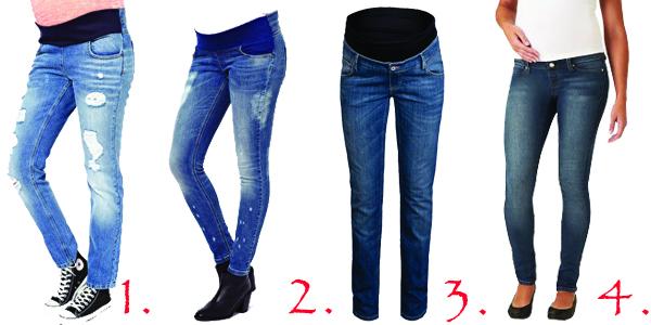 Clothing, Shoes & Accessories Generous Asos Under Bum Maternity Jeans Size 10